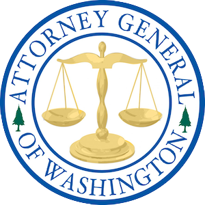 Washington State Office of the Attorney General (WA AGO) Logo